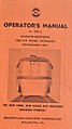 Baldwin-Lima-Hamilton, RP-210 Locomotive, Operator's Manual Cover, March 1957.jpg