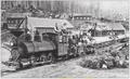 Baldwin Locomotive Works 0-6-0ST on the Mosquito and Coal Creek logging railroad, Washington.png