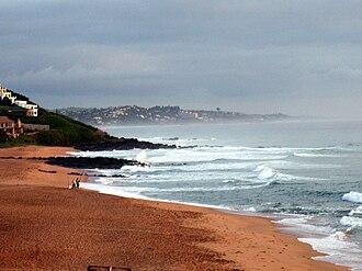 Ballito - Image: Ballito South Africa beach view 2