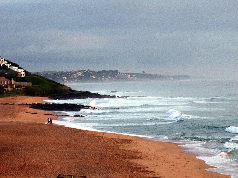 File:Ballito South Africa beach view 2.jpg