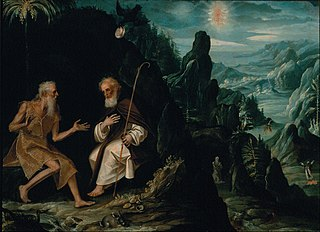 The Hermits, Saint Paul and Saint Anthony