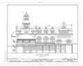 Baltimore and Ohio Railroad Station, Twenty-fourth and Chestnut Streets, Philadelphia, Philadelphia County, PA HABS PA,51-PHILA,405- (sheet 3 of 3).png