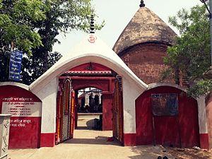 Bamakhepa - Bamakhyapa's Temple. Maluti village, Jharkhand