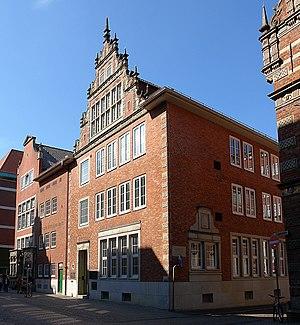 Langenstraße (Bremen) - The Martens und Weyhausen bank building on Langenstraße