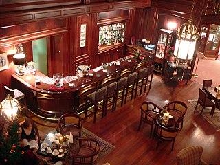 Bar Establishment serving alcoholic beverages for consumption on the premises