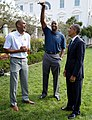 Barack Obama speaks with former NBA players (cropped).jpg
