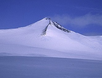 Barbeau Peak - Barbeau Peak as seen from its eastern side