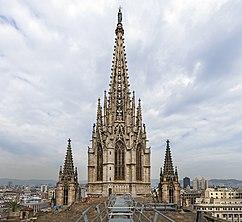 Cimborrio, Catedral de Barcelona (1906-1913)