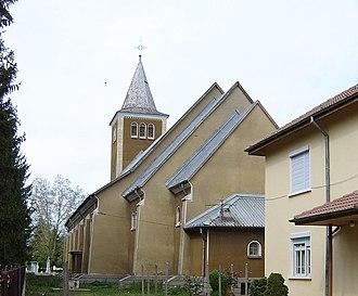 Banat Bulgarians - The Banat Bulgarian Roman Catholic church in Bardarski Geran, Bulgaria