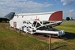 Barksdale Global Power Museum September 2015 23 (Convair B-58 Hustler rocket sled).jpg