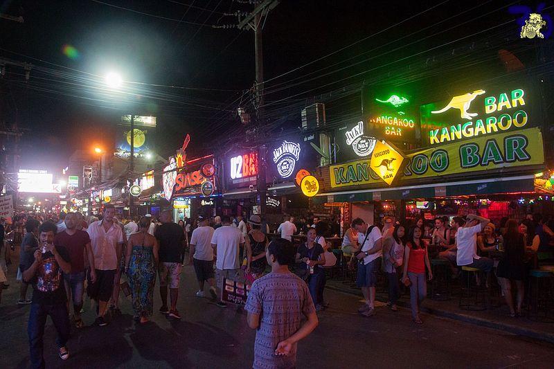 File:Bars at Bangla Road, Patong, Thailand.jpg