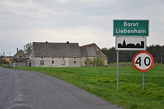 Barut Village in Opole, Poland