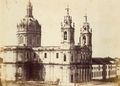 Basílica da Estrela, numa fotografia de Augusto Xavier Moreira (c. 1865).png