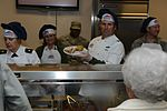 Base leaders dish out Thanksgiving Day meal 131128-F-QJ658-051.jpg