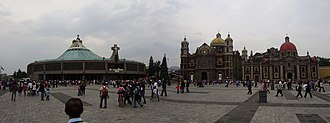 Marian apparition - Basilica of Our Lady of Guadalupe in Mexico City.