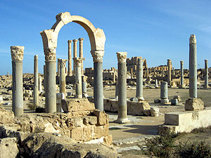 Zawiya District - Sabratha ruins