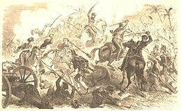 Description de l'image Battle of Resaca de la Palma.jpg.