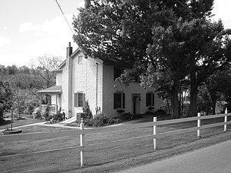 National Register of Historic Places listings in Campbell County, Kentucky - Image: Baumann House, Camp Springs, Kentucky