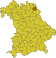 Вунзидель-им-Фихтельгебирге на карте