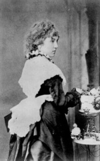 Beatrice Whistler - c. 1887