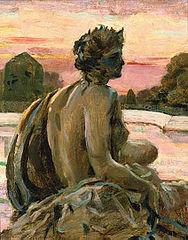 Une des figures au Parterre d'Eau