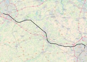 Belgian railway line 50 - Image: Belgian Railway Line 50