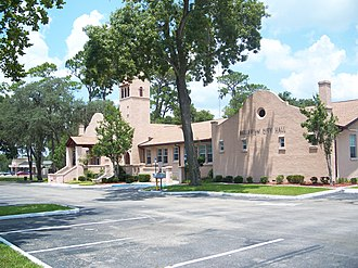 Belleview, Florida - Old Belleview School, now the City Hall