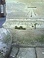 Benchmark on St Helen's Church - geograph.org.uk - 2090496.jpg