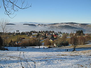 Benecko Municipality and village in Liberec Region, Czech Republic