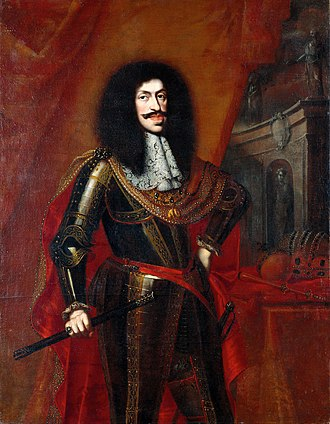 Leopold I, Holy Roman Emperor - Portrait by Benjamin von Block, 1672; notice the Habsburg lip on the Emperor