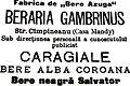 Berăria Gambrinus, Caragiale.jpg