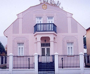 Gavro Vuković -  House of Gavro Vuković in Berane, today houses Montenegrin diplomatic summer school