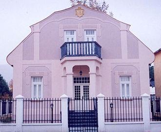 Gavro Vuković -  House of Gavro Vuković in Berane, today houses Montenegrin diplomatic summer school