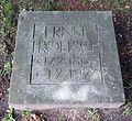 Berlin, Mitte, Invalidenfriedhof, Feld B, Grab Ernst Troeltsch, Restitutionsstein, 1991.jpg