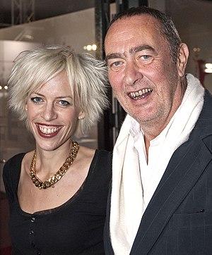 Katja Eichinger - Katja and Bernd Eichinger in 2008