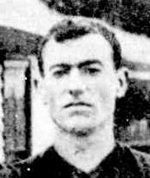 Bernie Nolan (footballer) - Nolan in 1908