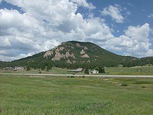 Berrian Mountain - Berrian Mountain seen from Meyer Ranch Park.