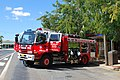 Berrigan NSW Police 150th Anniversary Fire Rescue NSW Truck 002.JPG
