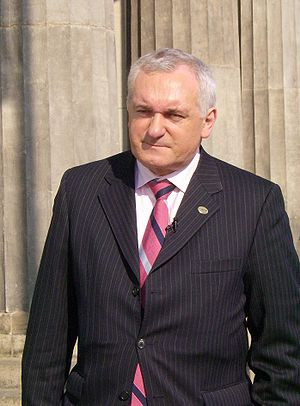 Bertie Ahern, the sixth leader of Fianna Fáil ...