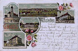 Achstetten - Achstetten, ca. 1900