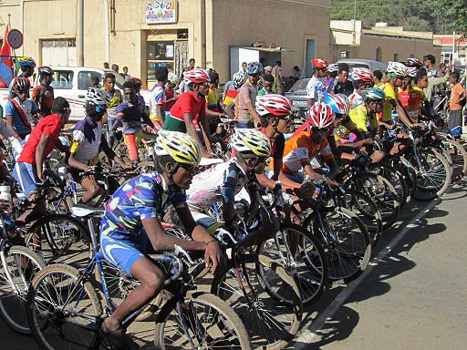 Cycling in Eritrea Part 1
