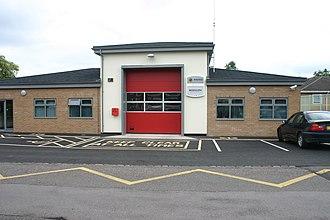 Biddulph - Biddulph Community Fire Station in July 2011