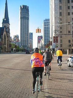 Cycling in Detroit
