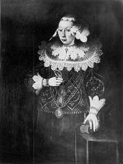 Portrait of Magdalena Köhler née Brömbse (1626-1642)
