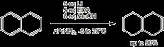 Birch reduction - Modified Benkeser reduction