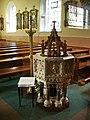 Birchley, St Mary's Catholic Church, Font - geograph.org.uk - 574266.jpg