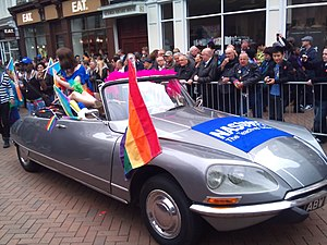 NASUWT - The NASUWT made an appearance in the Birmingham Pride parade in 2011