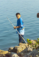 Biscayne National Park V-boy fishing.jpg