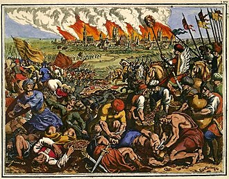 Mongol invasions and conquests - The Battle of Legnica took place during the first Mongol invasion of Poland.
