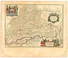 Blaeu 1645 - Russiæ vulgo Moscovia pars australis